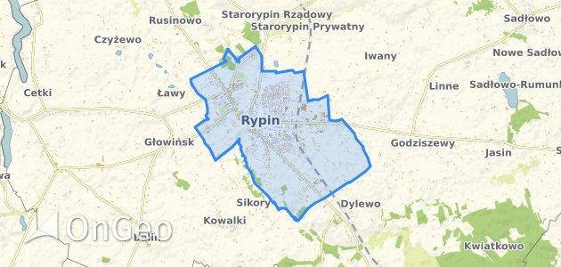 Geoportal Rypin Dzialki Ewidencyjne Rypin
