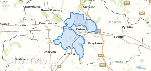 Geoportal Kutno Kutnowski Dzialki Ewidencyjne Kutno Kutnowski