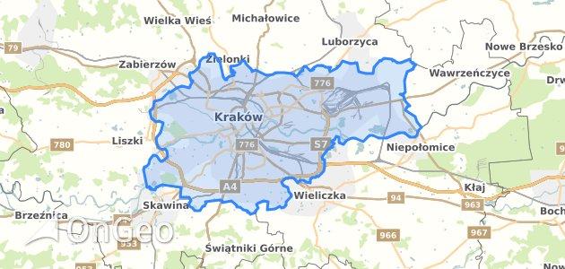 Geoportal Krakow Dzialki Ewidencyjne Krakow