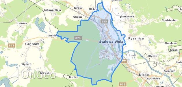 Geoportal Stalowa Wola Dzialki Ewidencyjne Stalowa Wola