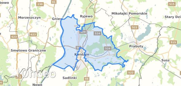 Geoportal Kwidzyn Kwidzynski Dzialki Ewidencyjne Kwidzyn