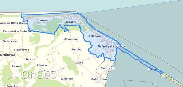 Geoportal Wladyslawowo Dzialki Ewidencyjne Wladyslawowo