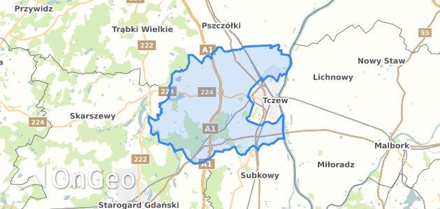 Geoportal Tczew Tczewski Dzialki Ewidencyjne Tczew Tczewski