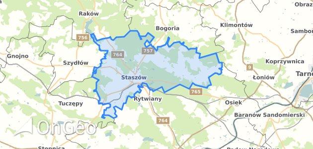 Geoportal Staszow Staszow Dzialki Ewidencyjne Staszow Staszow