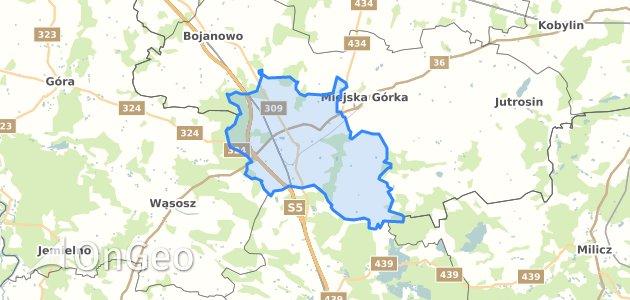 Geoportal Rawicz Rawicz Dzialki Ewidencyjne Rawicz Rawicz