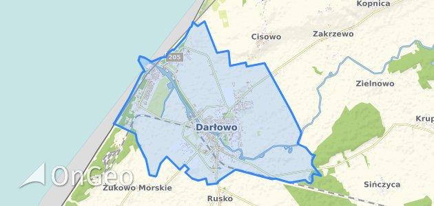 Geoportal Darlowo Dzialki Ewidencyjne Darlowo