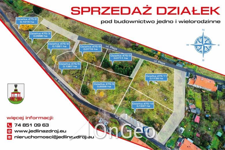 Sprzedam działkę gmina Jedlina-Zdrój zdjęcie3