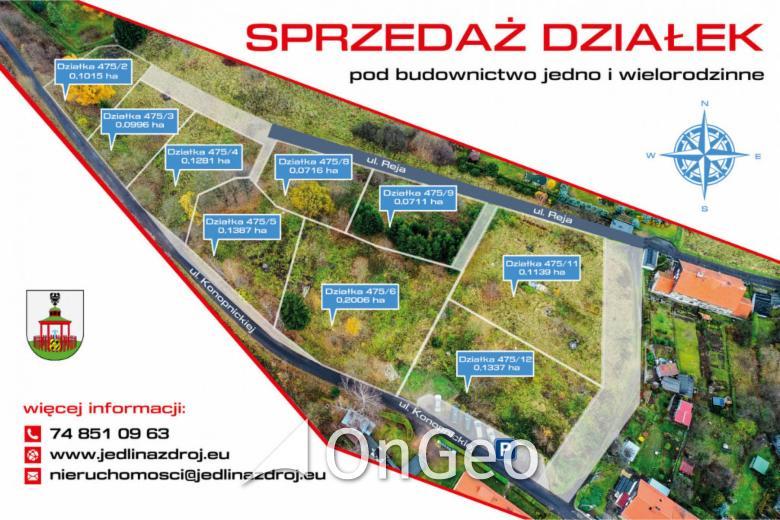 Sprzedam działkę gmina Jedlina-Zdrój zdjęcie2
