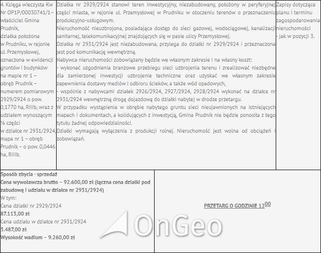 Sprzedam działkę gmina Prudnik zdjęcie9