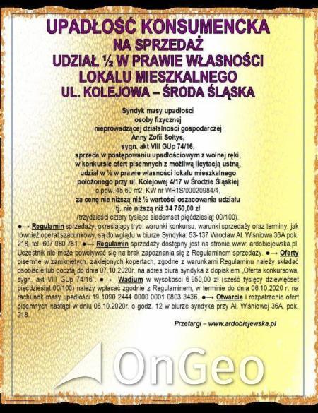 Sprzedam lokal gmina Środa Śląska zdjęcie6