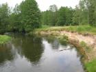 Nieruchomość Działka rekreacyjna (rolna) z linią brzegową rz. Drawy